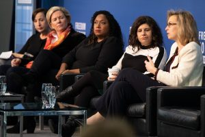 Photo of panelists from the Power Shift Summit 2.0 on Jan. 15, 2019