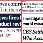 When news orgs cover their own scandals; media critics weigh in