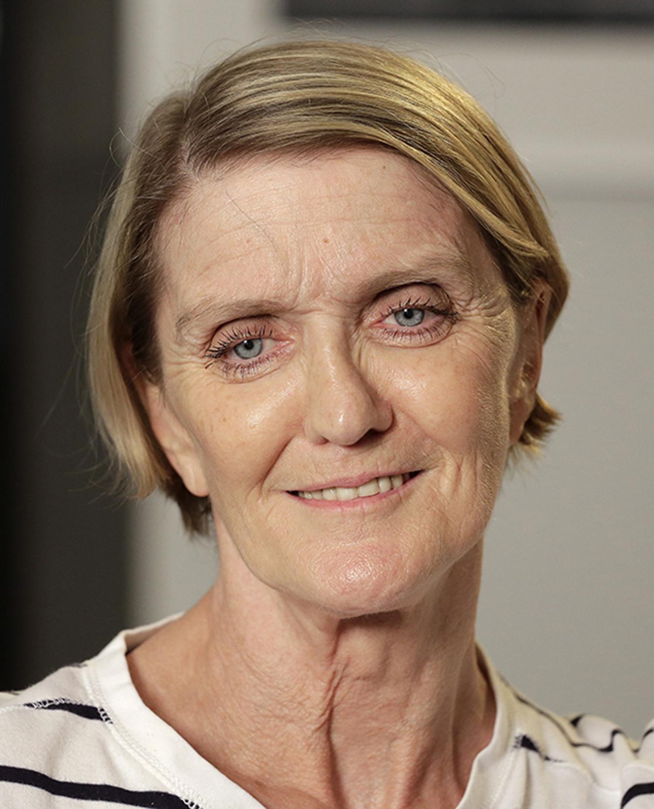 Head shot of Kathy Gannon